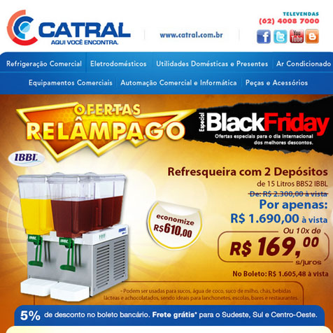 Portfolio Bruno Lopes - E-mail Marketing Catral