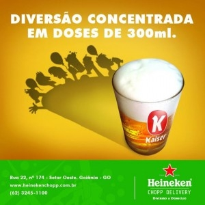 Promoção Futebol - Heineken Chopp Delivery
