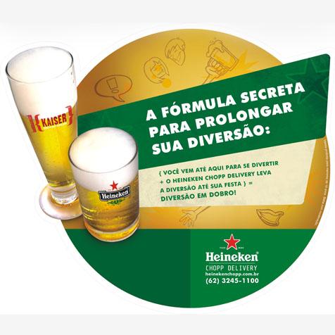 Portfólio Bruno Lopes - Heineken Chopp Delivery
