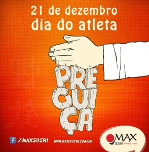 Portfólio Bruno Lopes - Max Sushi