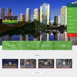 Novo Site do PMDB Goiás