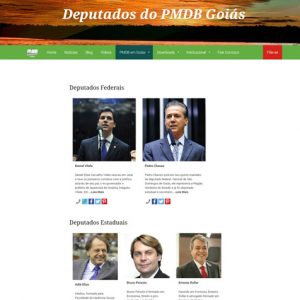 Novo Site do PMDB Goiás